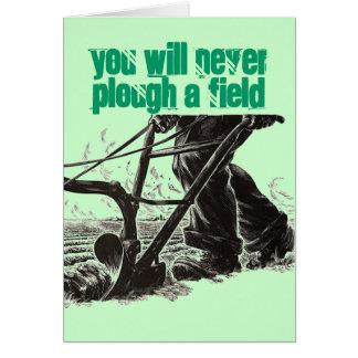 Motivational Irish Proverb St. Patrick's Day Card