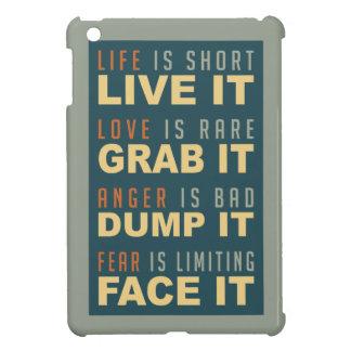 Motivational Life Advice cases Case For The iPad Mini