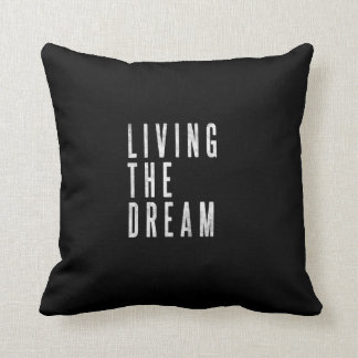 Motivational Lounge Or Bed Decor Pillow