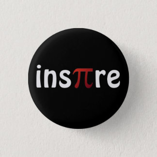 Motivational Math Inspire Pi Pin