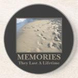 Motivational: Memories Last a Lifetime Coaster