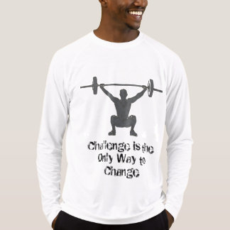 Motivational Men's Long Sleeve Activewear T-Shirt