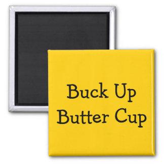 Motivational Messages Square Magnet