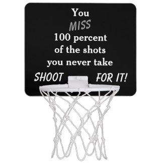 Motivational Mini Basketball Hoop