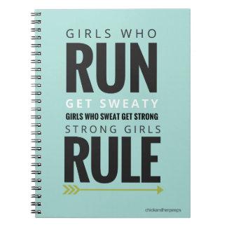 motivational notebook for girls