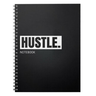 Motivational Notebook: Hustle Notebooks