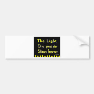 Motivational phrase bumper stickers