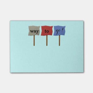 Motivational Post-it® Notes