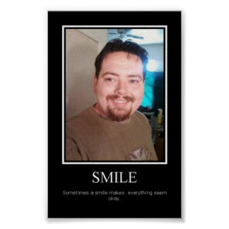 motivational poster smile