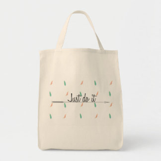 Motivational purse tote bag