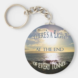 Motivational Quote Basic Round Button Key Ring
