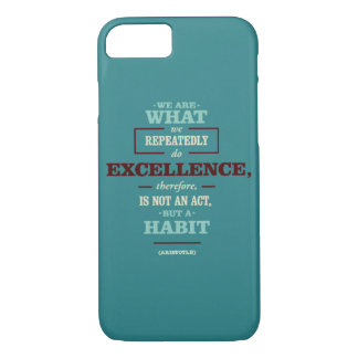 Motivational quote iPhone 7 case