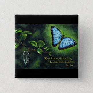 Motivational Quote Magnet 15 Cm Square Badge