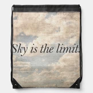 Motivational Quotes Photo Drawstring Bag
