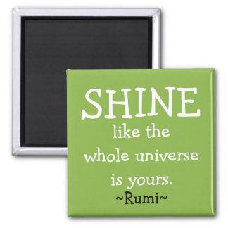 Motivational Rumi Quote Magnet