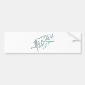 Motivational Running Bumper Stickers