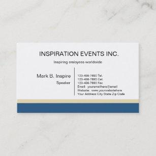 Motivational speaker business cards zazzle au motivational speaker business cards colourmoves