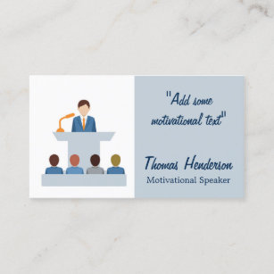 Motivational speaker business cards zazzle au motivational speaker life coach business card colourmoves
