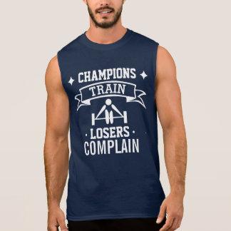 Motivational Typography | Gym Motivation | Fitness Sleeveless Shirt