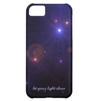 Motivational Universe Light Quote iPhone 5C Covers