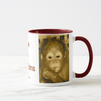 Motivational Wildlife Causes Mug