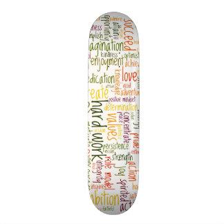 Motivational Words #2 skatedecks Skate Board Deck