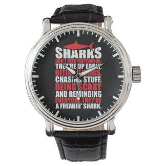 Motivational Words - Be A Shark Watch