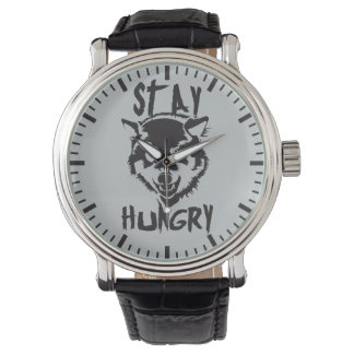 Motivational Words - Stay Hungry Watch