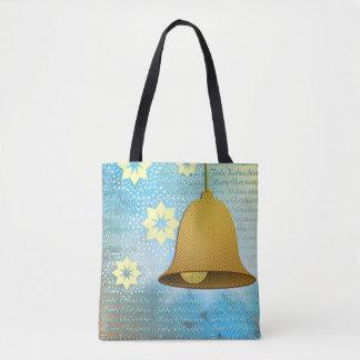 Motive for Christmas bell Tote Bag