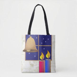 Motive for Christmas candles Tote Bag