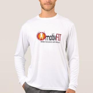 motivFIT Mens Performance Micro-Fiber Long Sleeve Tee Shirt