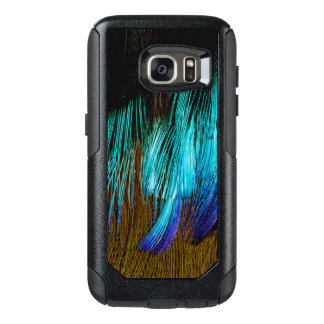 Motmot Feather Abstract OtterBox Samsung Galaxy S7 Case