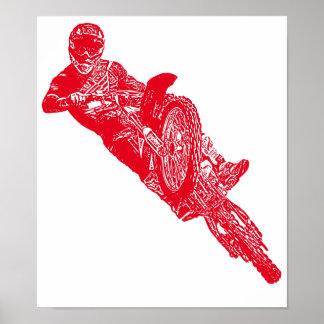 Moto addict print