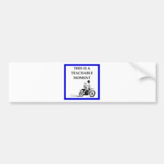 moto bumper sticker