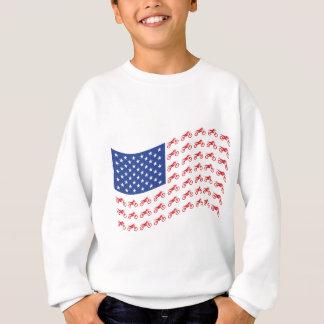 mOTO-cROSS-fLAG-wAVE Sweatshirt