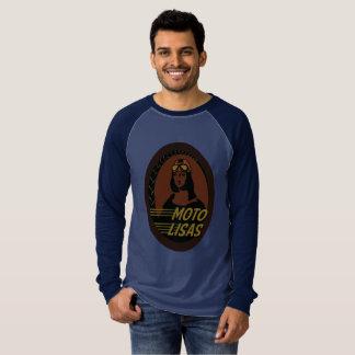Moto Lisas Men's Raglan - Pick your color/size T-Shirt