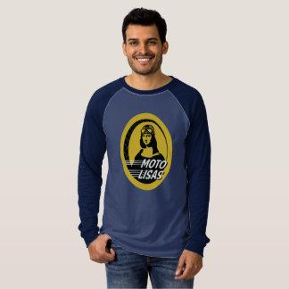 Moto Lisas Men's Raglan - Pick your colour/size T-Shirt