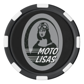 Moto Lisas Poker Chip