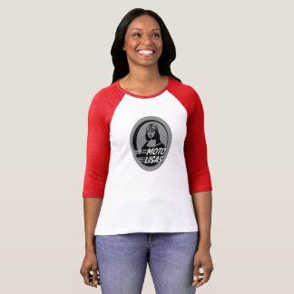 Moto Lisas Raglan Sleeve Baseball T-Shirt