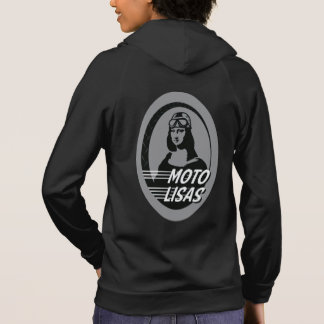 Moto Lisas Zip Front Hoodie (Pick your color/size)