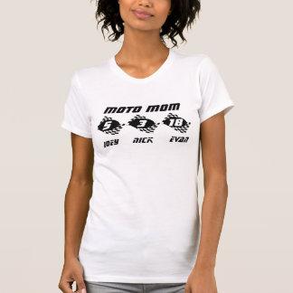 Moto Mom Custom Flags T-Shirt
