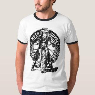 Moto Monkey Dos (vintage) T-Shirt