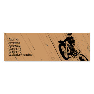 Moto-Psycho Business Card Template