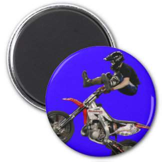 moto rider magnet