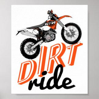 Moto riders print