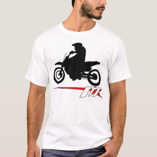 Moto Star Supermoto Backing It In  T-Shirt