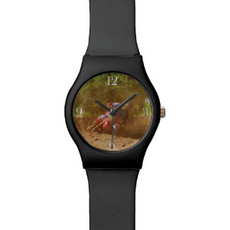 Moto-X Dirt-biker Sports Watch Design