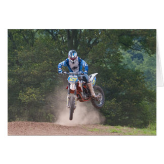 Moto X Greetings Card 4 Motocross