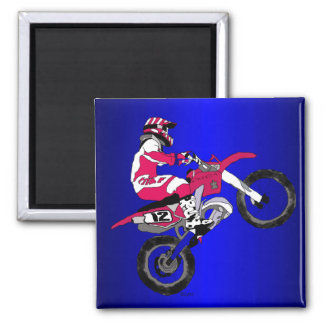 Motocross 302 magnet