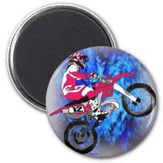 Motocross 306 magnet